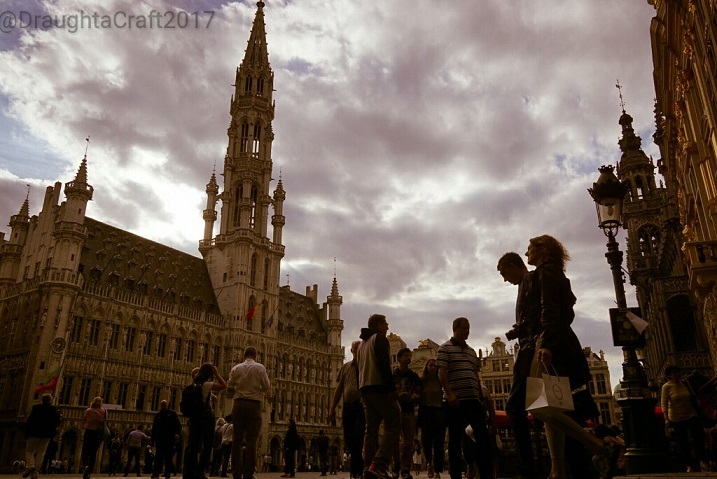 Brussels City centre, let us walk you around a bit