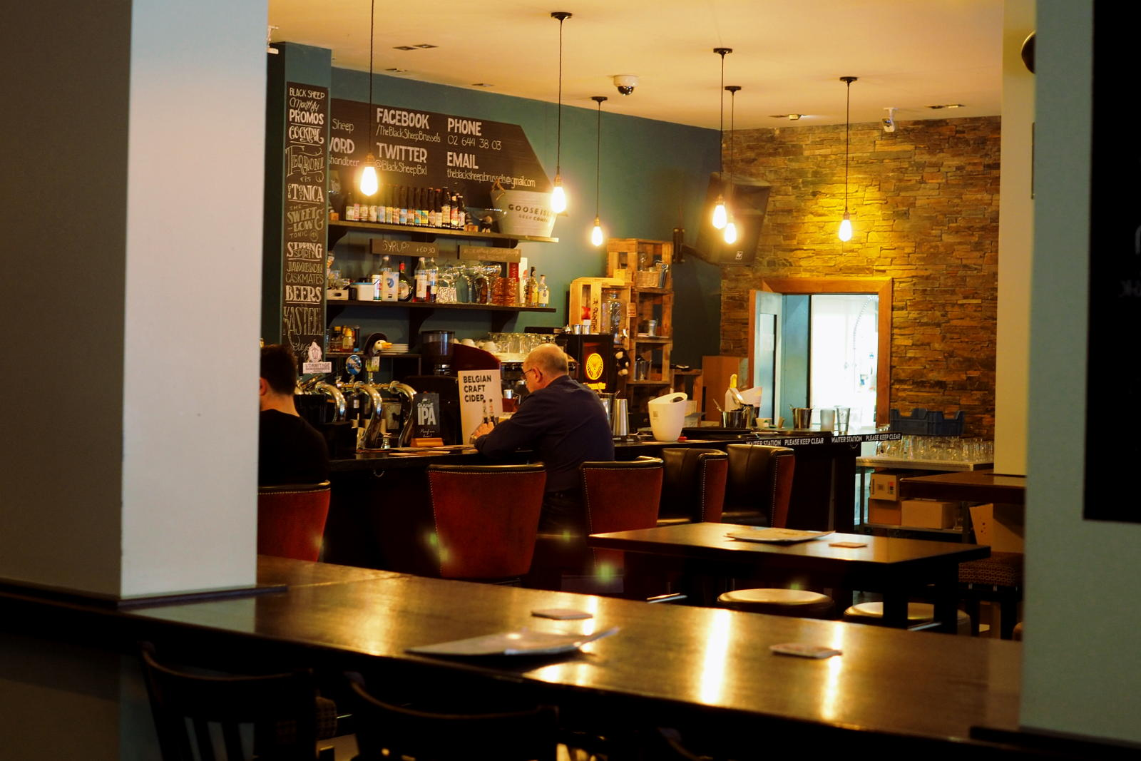 The Black Sheep food is another good reason to come to this craft beer bar