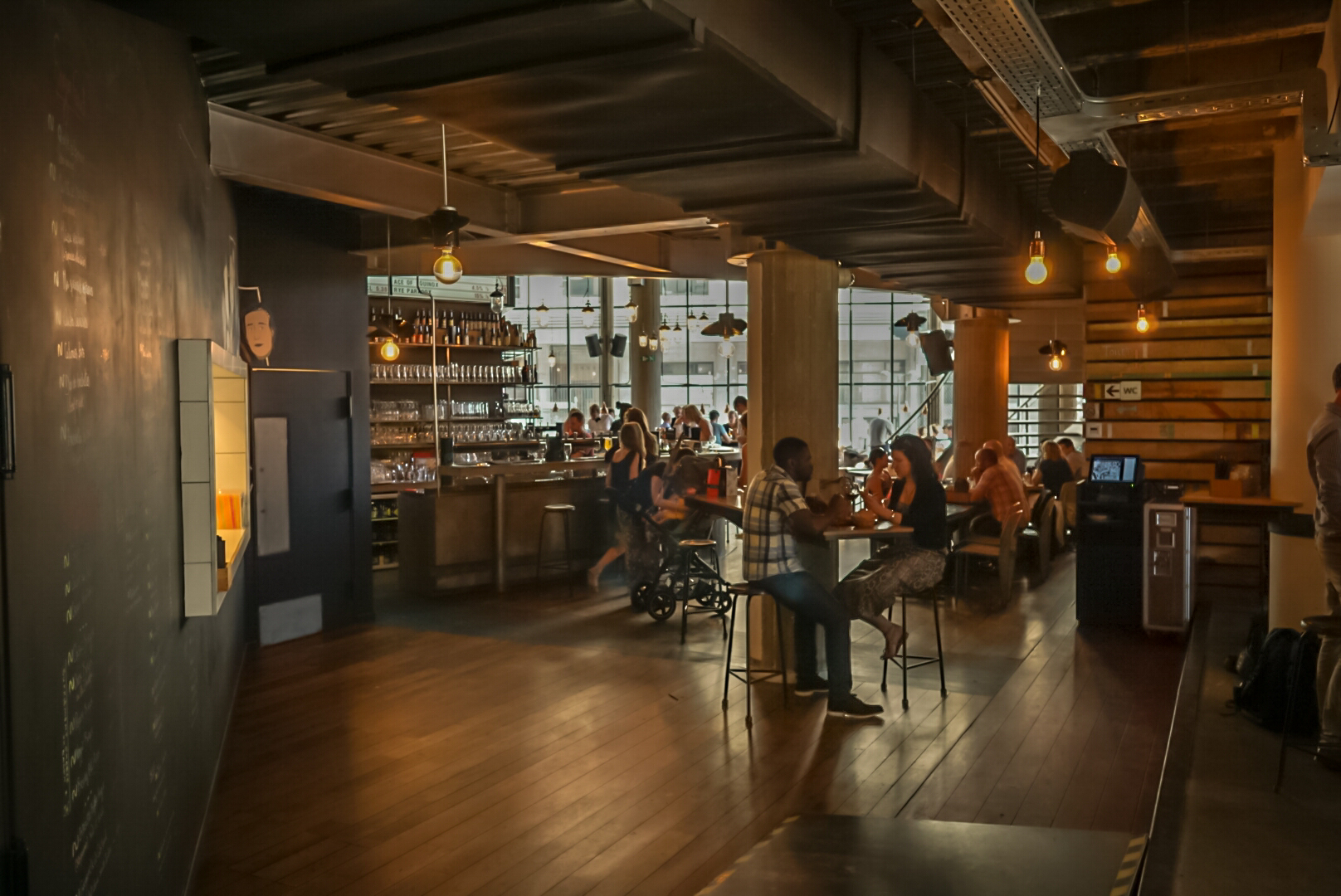 Another view of BrewDog's interior